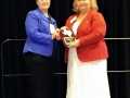 Appreciation presented to Terri Frnka for her service as TxHIMA 2017 Past-President