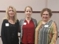 Scholarship Winner Ann Hunt with Kay Frieze and Tammy Cervantes