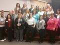 San Jacinto North Students, Instructors and Carla Ruffins and Sylvia Ramirez