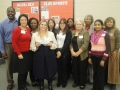 HCC Faculty and Students with Sylvia Ramirez