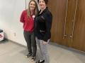 Nora Belcher ,Texas E-Health Alliance and Terri Darsee, President-Elect