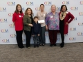 Scholarship Winners with San Jacinto Instructors