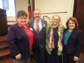 Tammy Cervantes with himagine solutions, Terry, Marna and Pam
