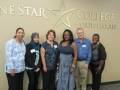 Dr. Debora Butts and Lone Star North Harris College Students