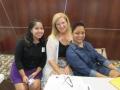 Registration Crew - Cristina, Noni and Valerie